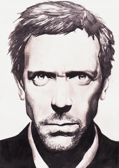 Hugh Laurie by BiSOu